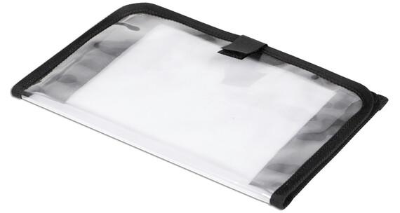 Norco Kartenfach mit Klettverschlussbefestigung transparent